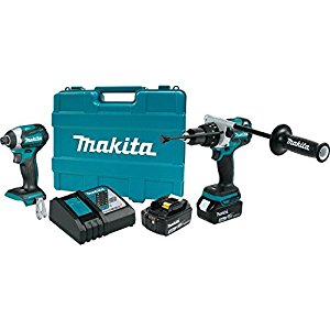 Makita Xt268t 18v Lxt Lithium Ion Brushless Cordless 2 Pc One Of